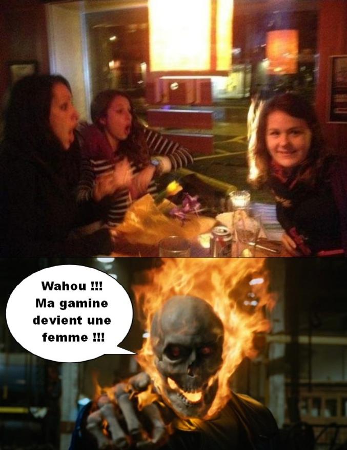 La fille de Ghost Rider est une tête brulée...