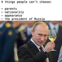 Quatre choses qu'on ne peut pas choisir