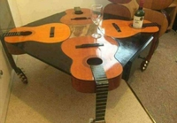 Table guitares