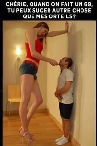 La taille ça compte énormément !