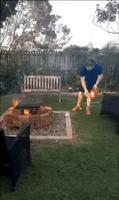 Toujours Régis et son barbecue