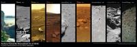 L'ensemble des astres dont la surface a été visitée par l'humanité