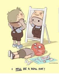 """""""Un jour je serai un vrai petit garçon !"""""""