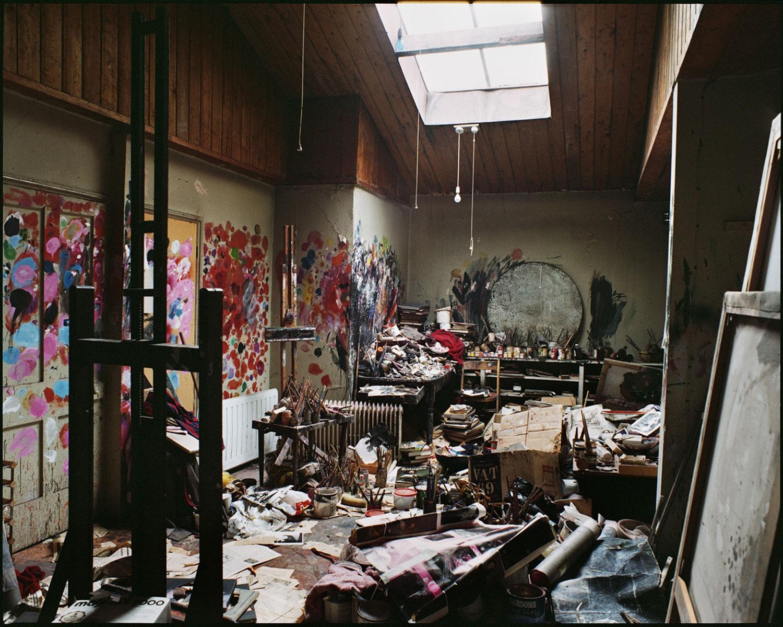 atelier du peintre francis bacon