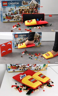 Chaussons Lego
