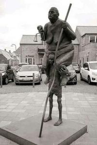 Statue riche/pauvre