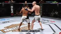 Une prise interdite en UFC