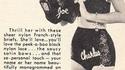 Dans les années 50, on pouvait commander des culottes avec le nom de son mec brodé...
