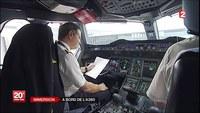 Préparatifs d'un A380, Paris New-York