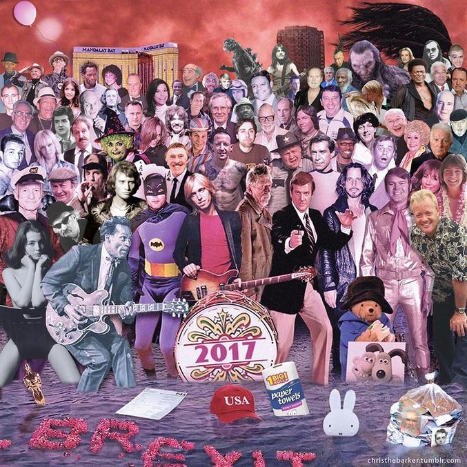Faut avouer que la photo de groupe a moins de gueule que celle de l'an dernier. Oh m...Higgins est mort...