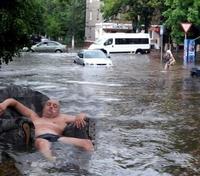 Se détendre durant les inondations