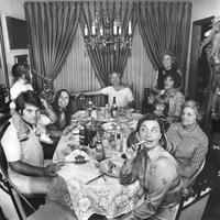 Repas de shabbat en Amérique dans les années 80