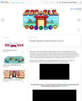 Jeux Doodle de l'île des Champions (24 juillet)