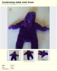 Bébé violé à vendre sur leboncoin