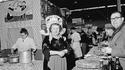 1963, le stand de la gastronomie bretonne au Salon de l'Agriculture
