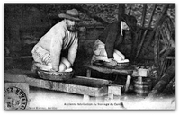 Ancienne fabrication du fromage du Cantal