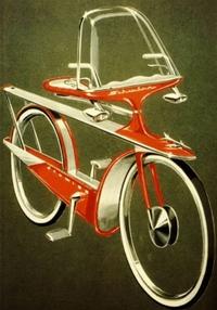 Customisation US de vélo dans les années 60