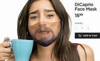 Un masque meme DiCaprio