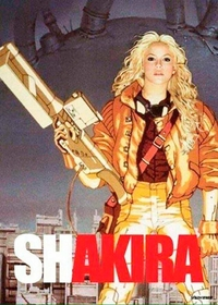 "Mashup : ""waka waka"" + ""Kaneda Kaneda""="