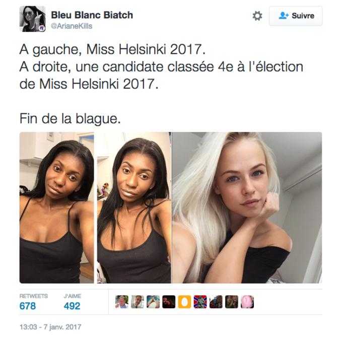 Subjective. cf: https://twitter.com/ArianeKills/status/817839148300140544 .