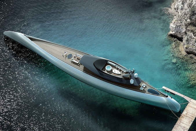 https://vimeo.com/257656263 Le dernier concept présenté à Dubaï d'un mégayacht de 115 mètres de long. Inspiré des canots primitifs polynésiens. Ils ont juste ajouté la wifi. Déjà quelques acheteurs intéressés.