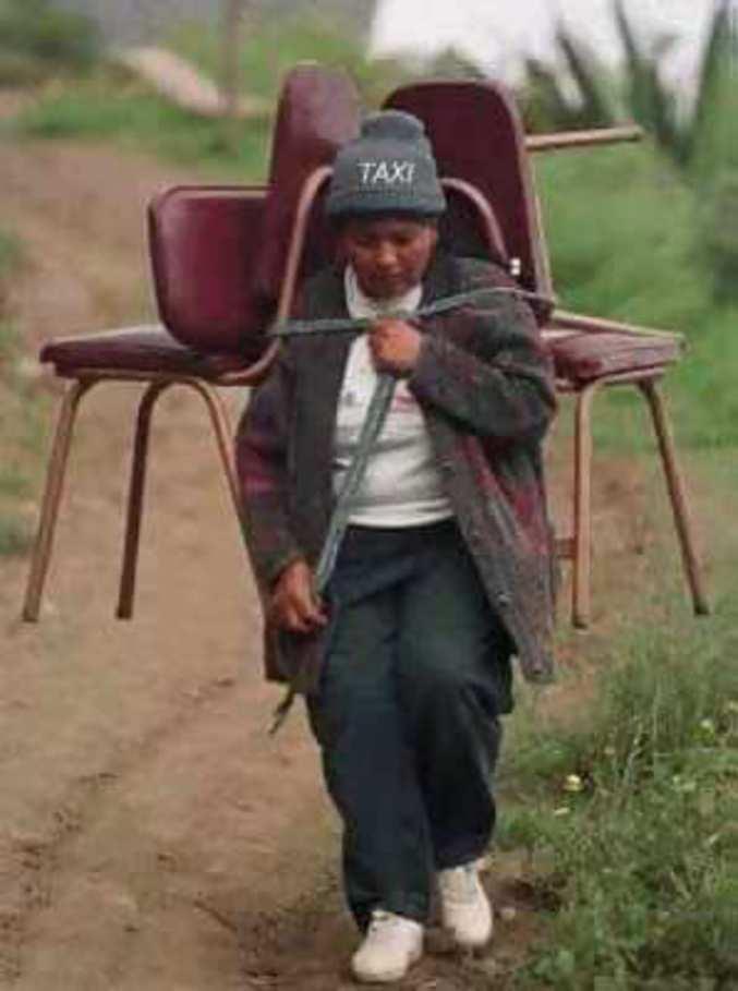 Taxi du tiers monde, pas plus de 2 places !