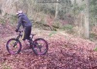 Quand il s'agit de vélo, Magnussoren est plein d'inventivité