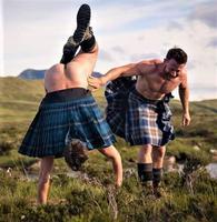 Où il est avéré que les écossais ne portent rien sous leur kilt