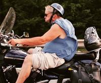 Un motard stylé