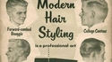 Coupes de cheveux pour hommes entre 1955 et 1962