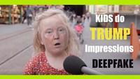 Trump, des enfants et du deepfake