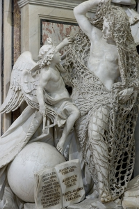 """Statue """"Il Disinganno"""" (la désillusion)"""