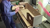Fabrication d'une enceinte Jean Maurer