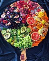 Un plateau de fruits