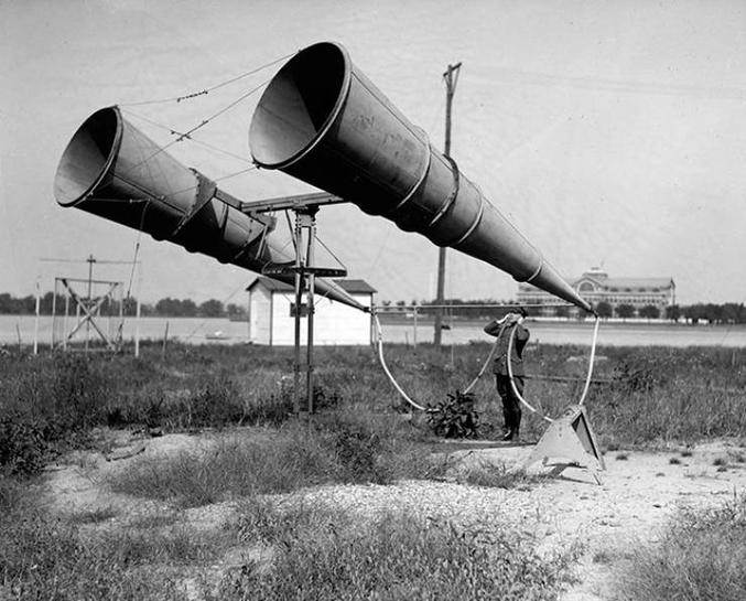 avant l'invention du radar.