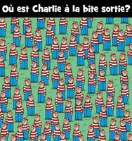 Où est Charlie à la bite sortie ?