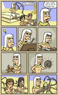 Ingénieux Egyptiens !