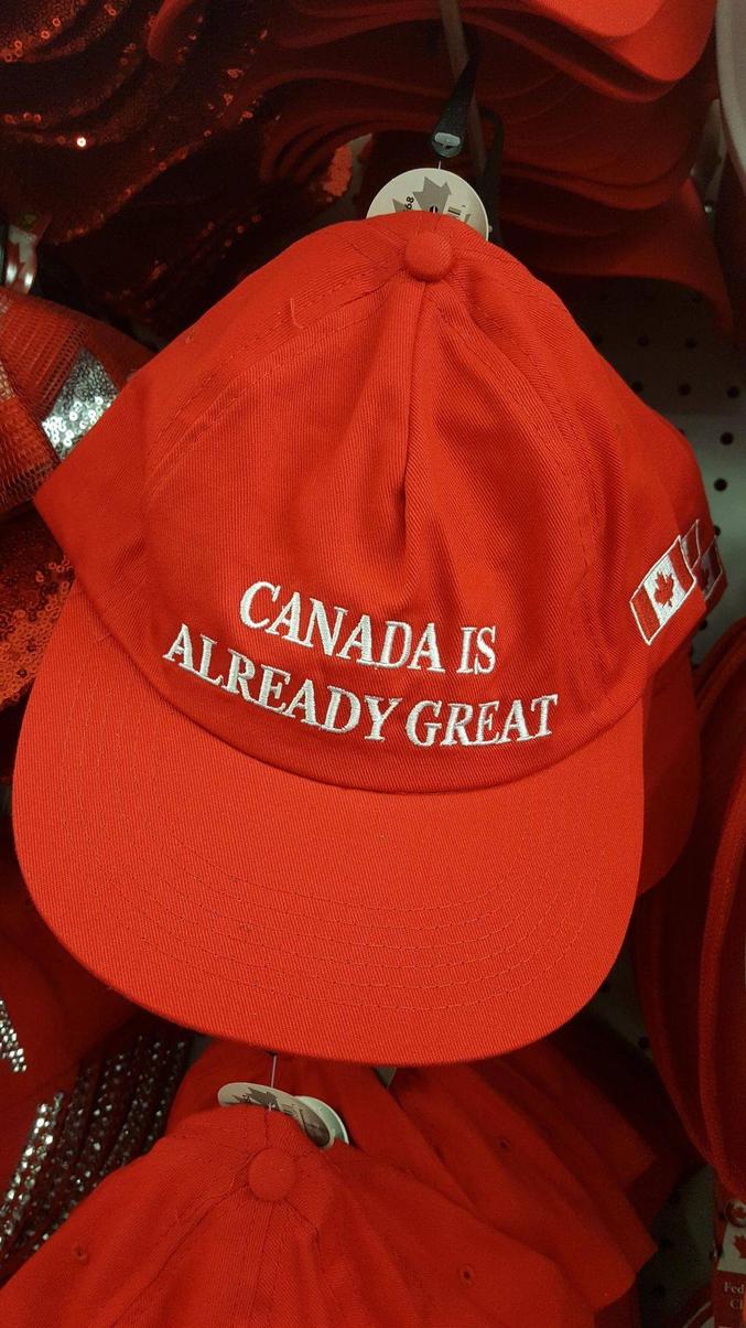 Le Canada est déjà formidable !