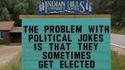 Le problème des blagues politiques