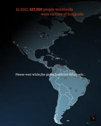 Carte interactive des pays les plus dangereux du monde