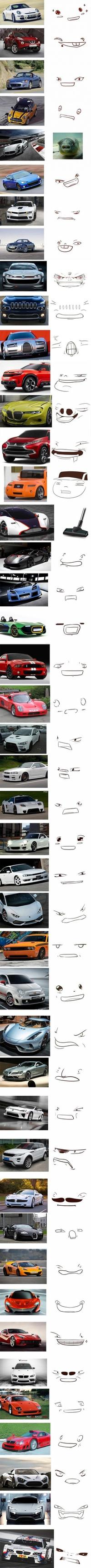 Des voitures qui ont de la gueule