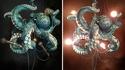 Chandelier pieuvre