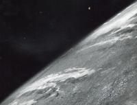 La première image de la Terre vue depuis l'espace