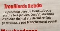 Un article dans Charlie Hebdo