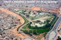 La résidence du Président de l'Angola...