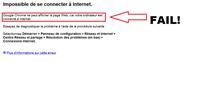 Google Chrome Fail