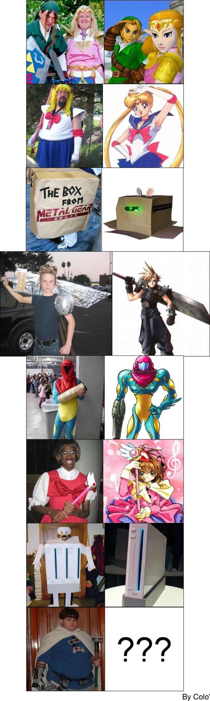 La dure vie de cosplayeur