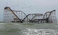 L'attraction Jet star après l'ouragan Sandy de 2012