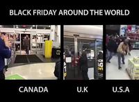 Black Friday dans le monde