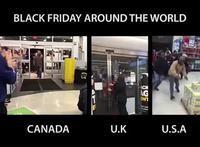 Black Friday dans le monde